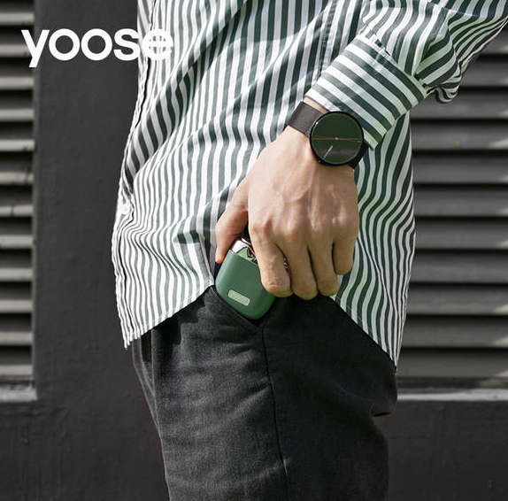 Yoose「有色」迷你便攜電動剃鬚刀
