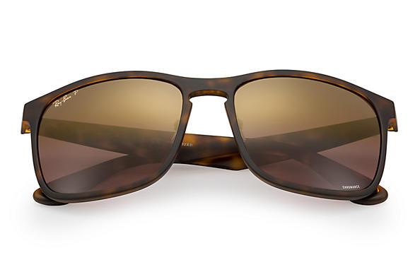 Ray-Ban RB4264 Chromance Polarized 偏光紫色戀彩鏡片太陽眼鏡 | 894/6B 玳瑁啡色鏡框