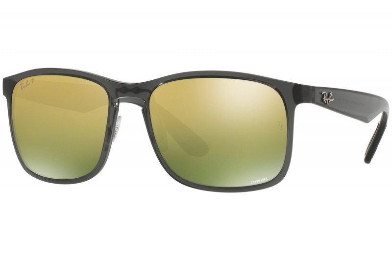 Ray-Ban RB4264 Chromance Polarized 偏光綠色戀彩鏡片太陽眼鏡 | 876/6O 灰色鏡框