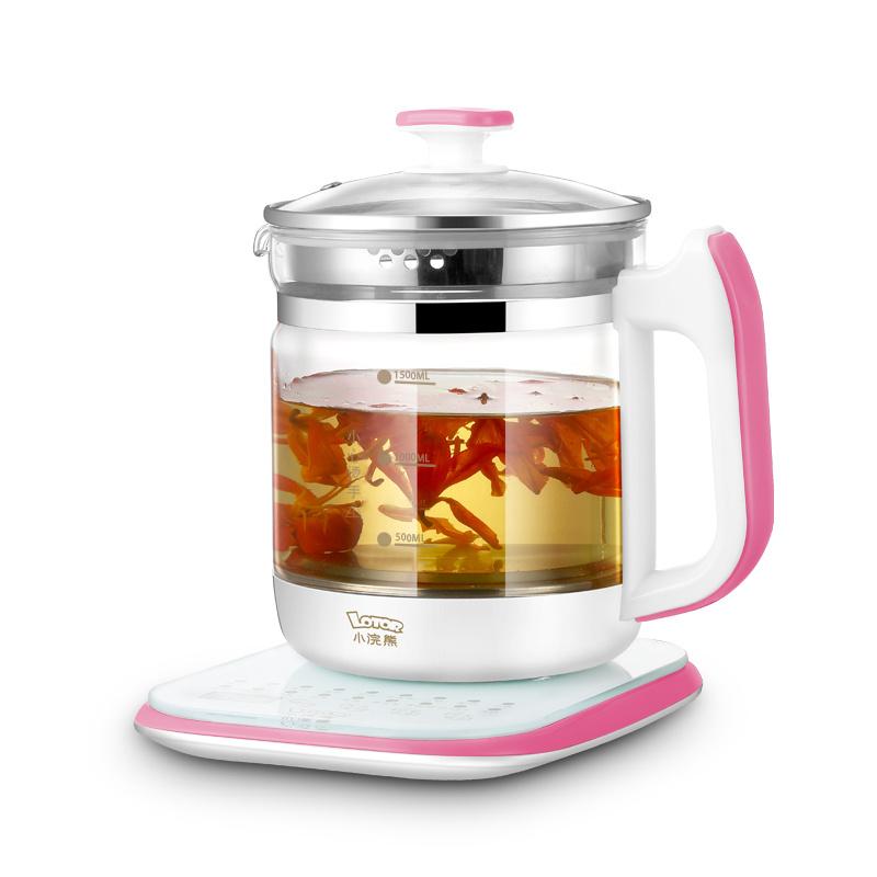 小浣熊 多功能養生壺1.5L HM-820A - 電熱水燒水壺 煲茶器 養生煲 煲湯壺
