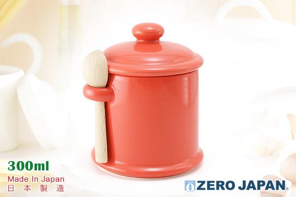 ZeroJapan 懷舊調味罐 (紅蘿蔔色) 日本製造