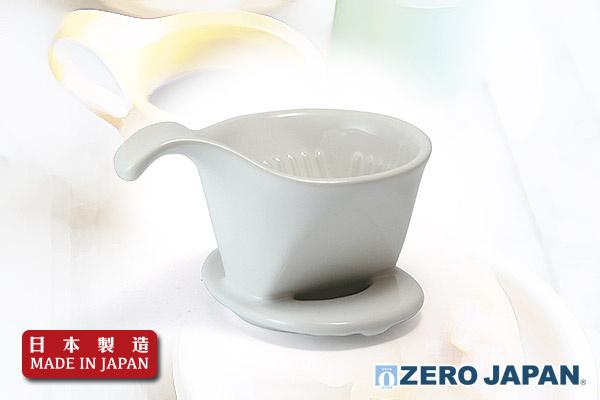 ZeroJapan 咖啡滴頭 (小/白色)|日本製造