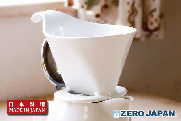 ZeroJapan咖啡滴頭 (大/白色) 日本製造