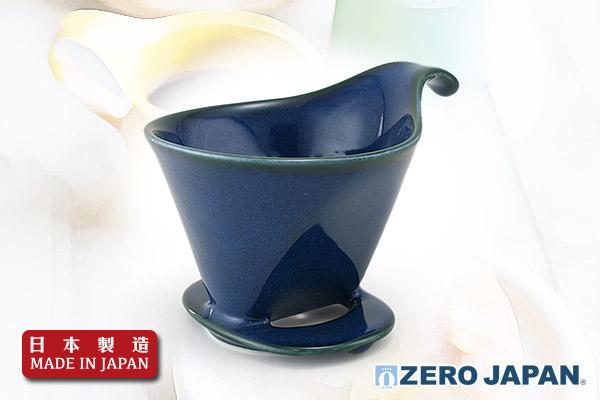 ZeroJapan咖啡滴頭 (大/牛仔布藍)|日本製造