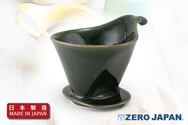 ZeroJapan咖啡滴頭 (大/古早綠色)|日本製造
