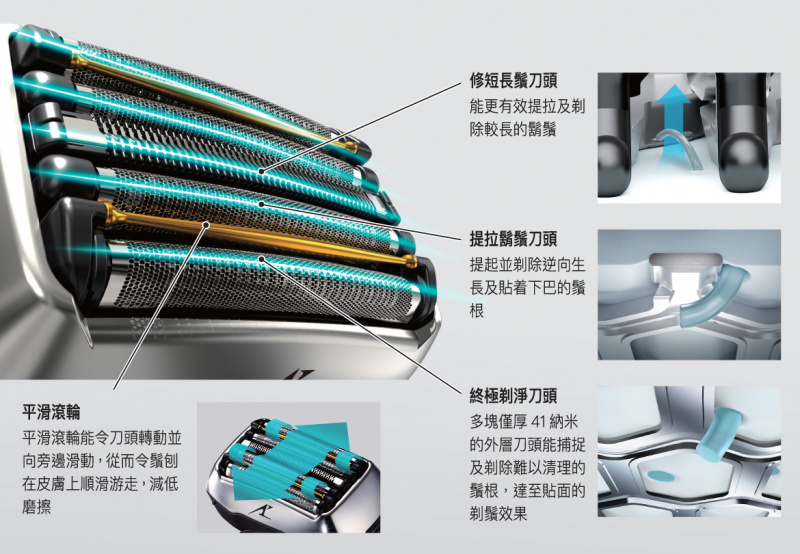香港行貨 Panasonic Lamdash系列電鬚刨 ES-LV9E