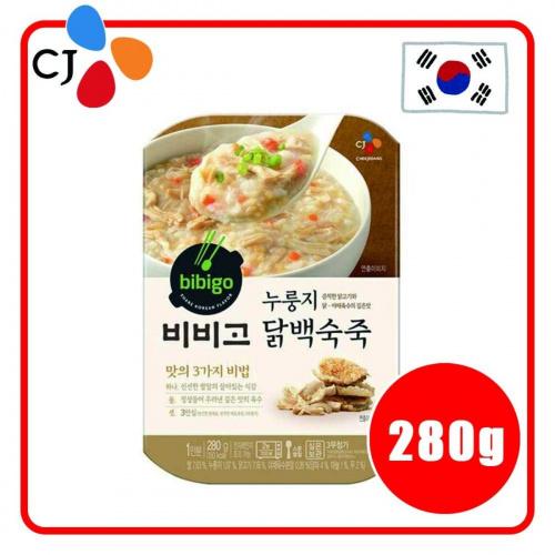 CJ - 韓國Bibigo 雞絲鍋巴即食粥280g