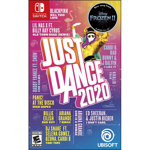 NS SWITCH 舞力全開 Just Dance 2020 中英文合版