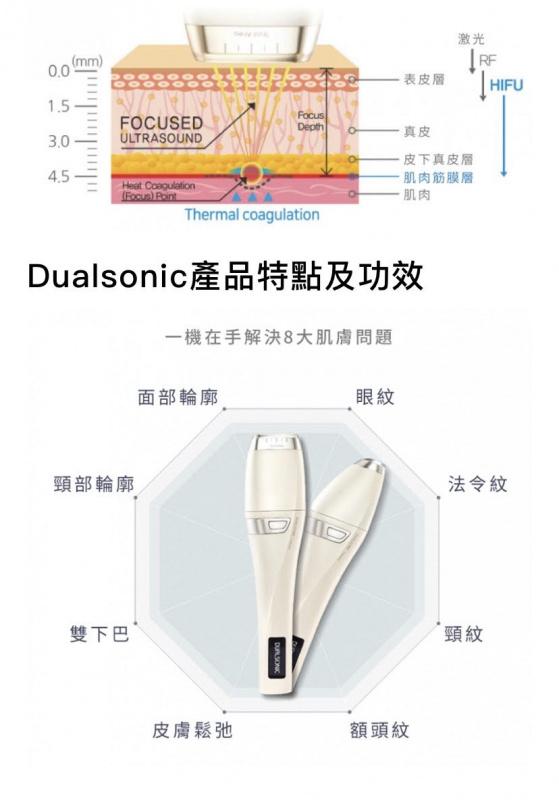 Dualsonic Luxury 家用HIFU超聲刀美容機