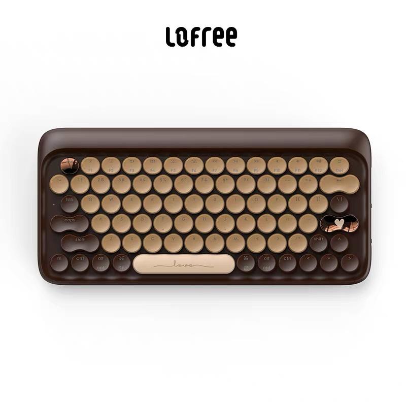 Valentine特別定製版 Lofree '巧克力'鍵盤
