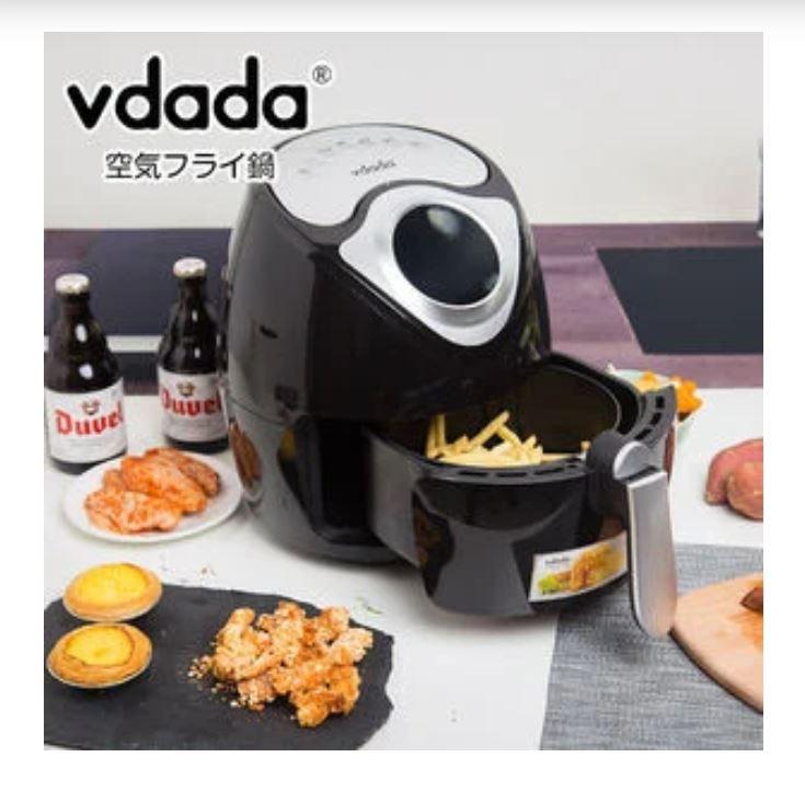 日本 Vdada 2.6L 多功能空氣炸鍋 日式氣炸鍋 [2色]