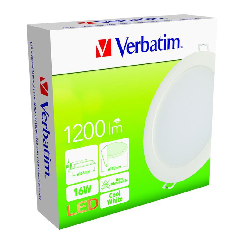 LED Downlight 4000K CW (150/165mm)
