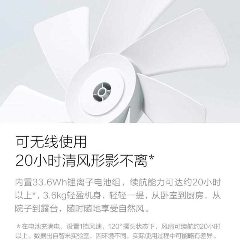 Xiaomi 小米 智米無線自然風風扇 ZRFFS01ZM