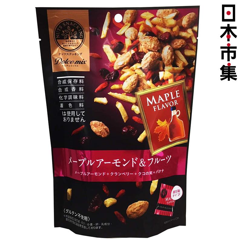 日版 Dolce【楓糖杏仁】雜錦堅果 果乾零食 55g 【市集世界 - 日本市集】
