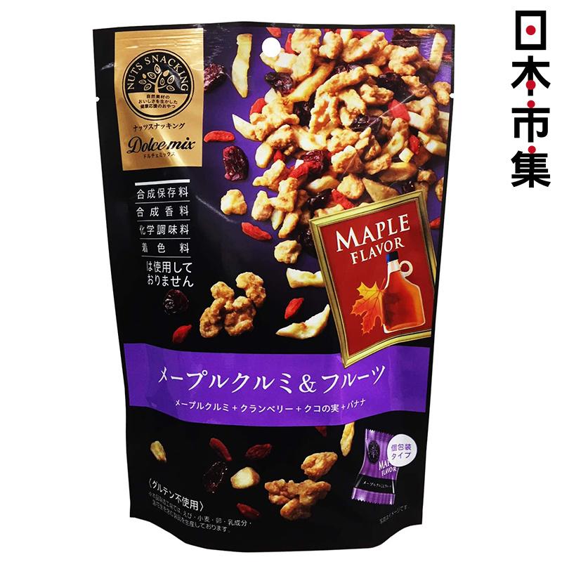 日版 Dolce【楓糖核桃】雜錦堅果 果乾零食 53g 【市集世界 - 日本市集】