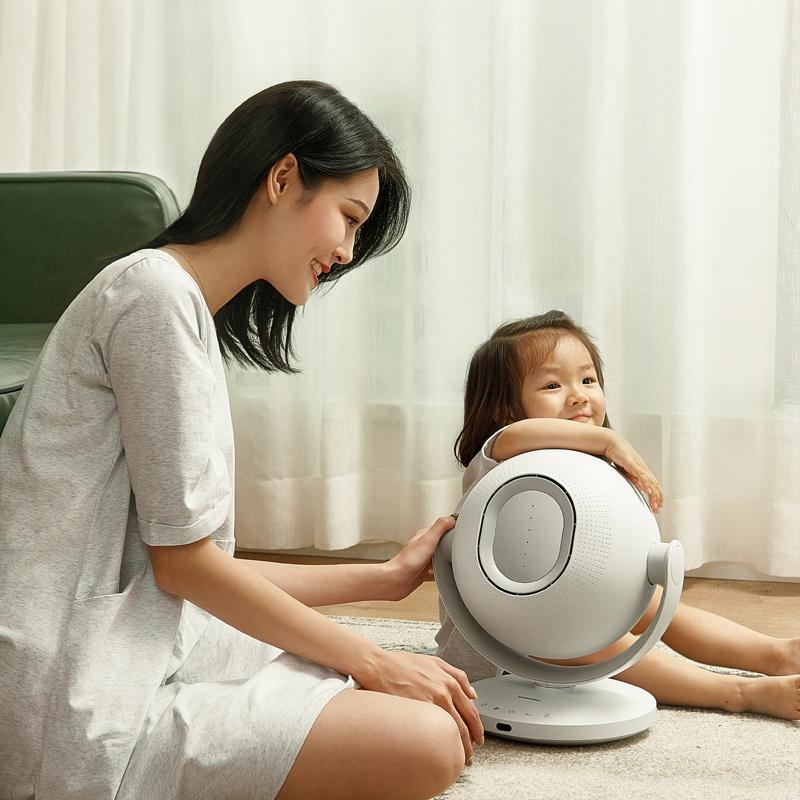 韓國大宇無葉風扇電風扇落地空氣循環扇