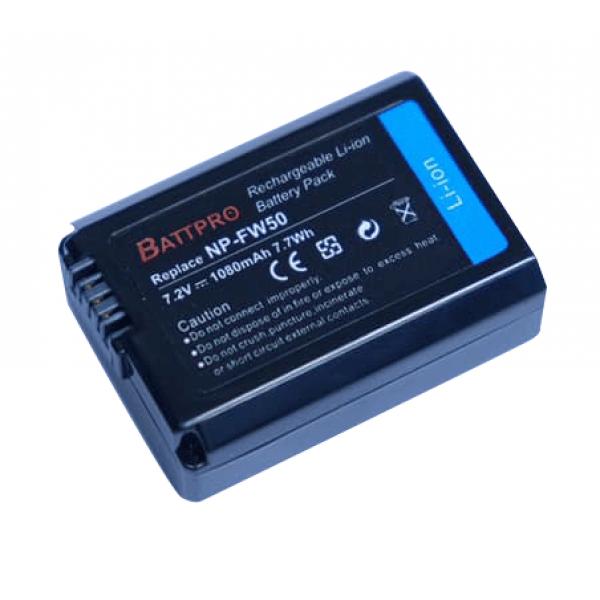 BattPro FOR Sony NP-FW50 香港行貨