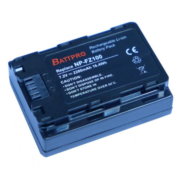 BattPro For Sony NP-FZ100 / 7.2V 2280mAh 香港行貨