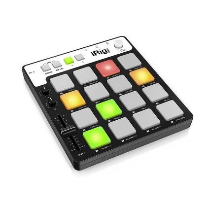 IK Multimedia iRig Pads MIDI 節拍控制器