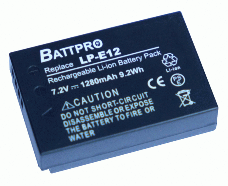 BattPro Canon LP-E12 香港行貨