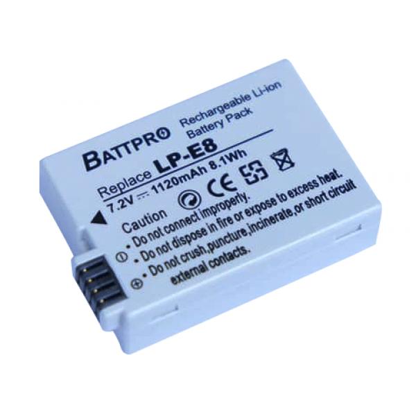 BattPro Canon LP-E8 香港行貨