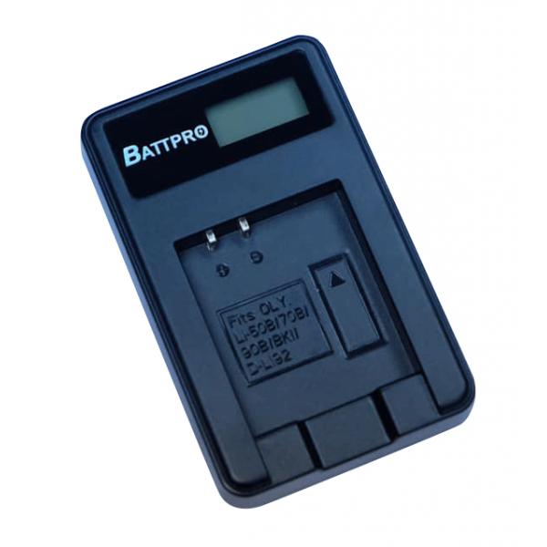 BattPro Olympus Li-50B USB充電器 香港行貨