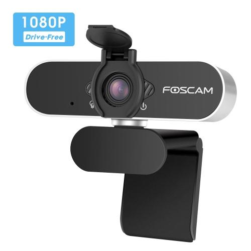 Foscam W21 1080P USB 高清電腦直播攝像頭