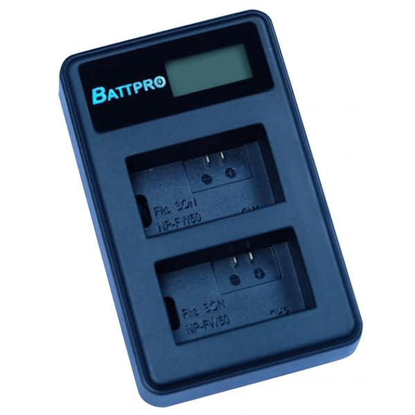BattPro Sony NP-FW50 雙位電池USB充電器 香港行貨