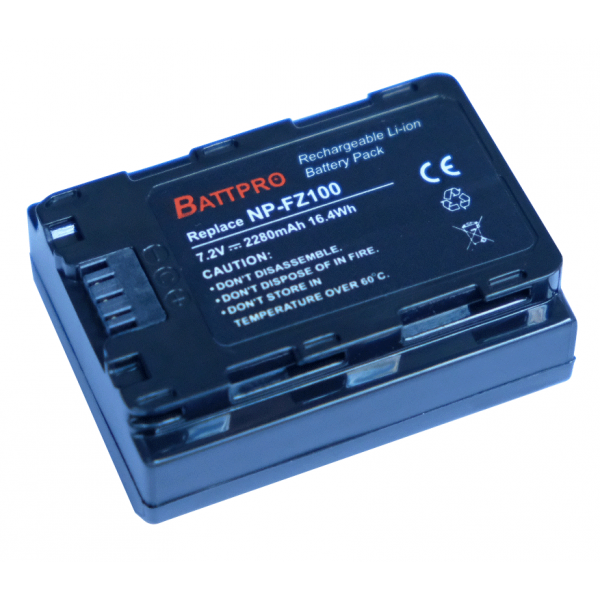 BattPro Sony NP-FZ100 香港行貨