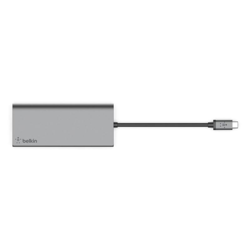Belkin USB-C 多媒體集線器 F4U092btSGY