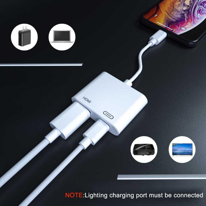 Lightning to HDMI 轉接器