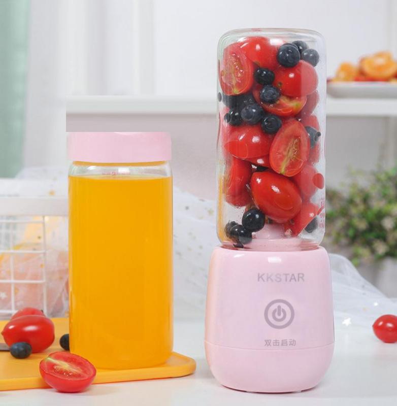 KKSTAR - 歐陸風輕巧便攜榨汁杯