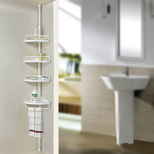 4層浴室置物架