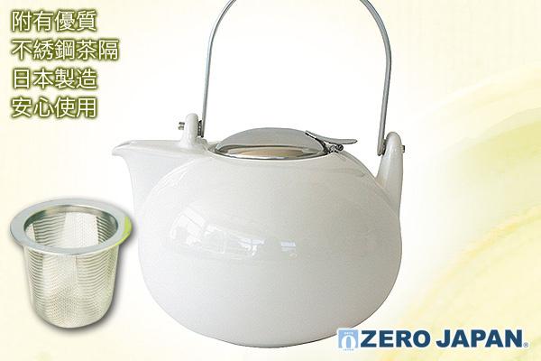 Zero Japan和式珍寶茶壺(白)|日本製造