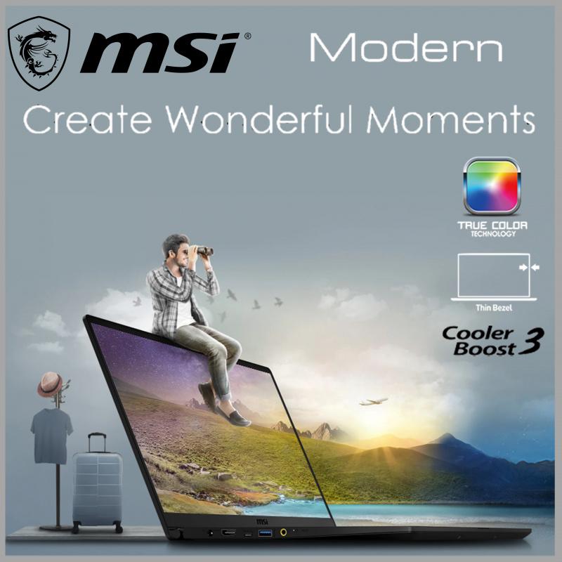 MSI Modern 14 B10MW 專業創作者筆記型電腦 ( i7-10510U / UHD620 )