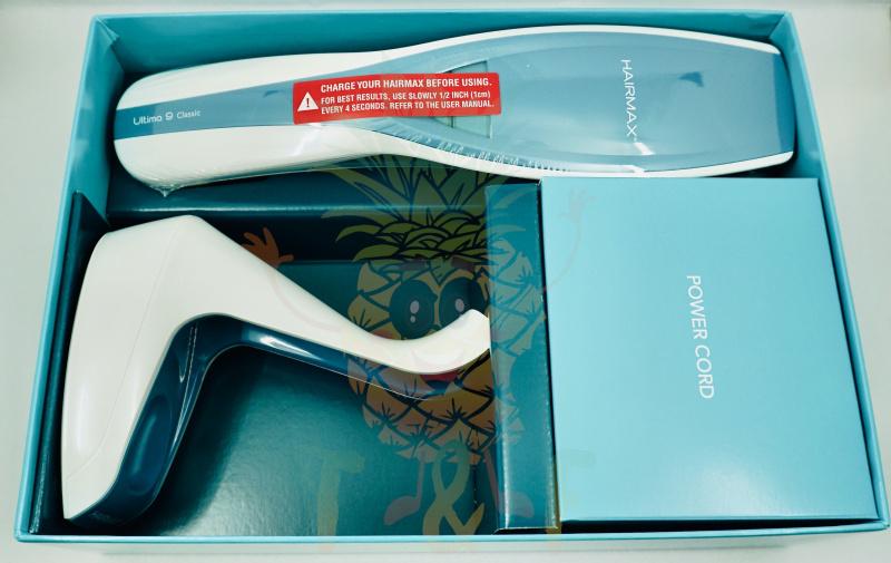 HairMax - U9 Classics 光束生髮儀紅光控油防脫生髮帽美容儀器