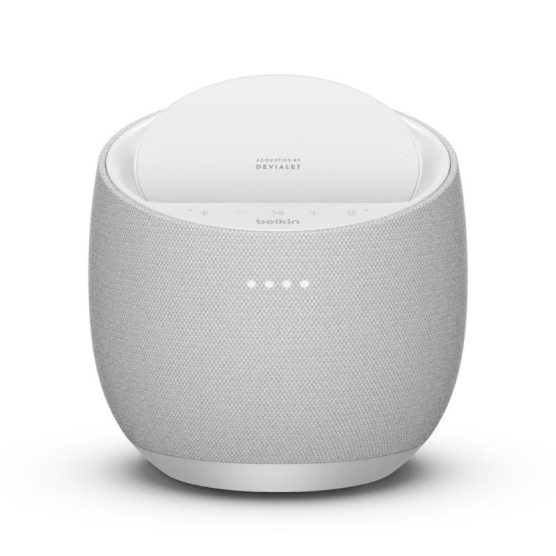 Belkin x Devialet SOUNDFORM™ ELITE Hi-Fi 智能喇叭 + 無線充電器
