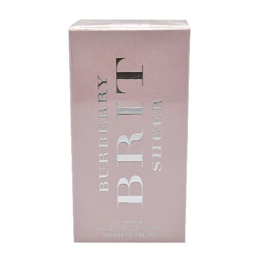 Burberry BRIT SHEER 粉紅風格淡香水 (100ml)