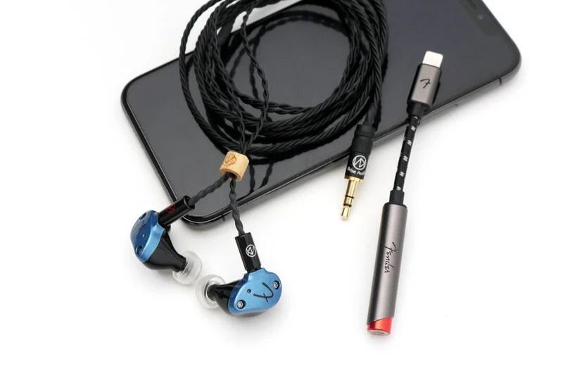 Brise Audio BATE001 線材 + Fender Nine 1 Earphone + Fender AE1i DAC Amplifier 套裝