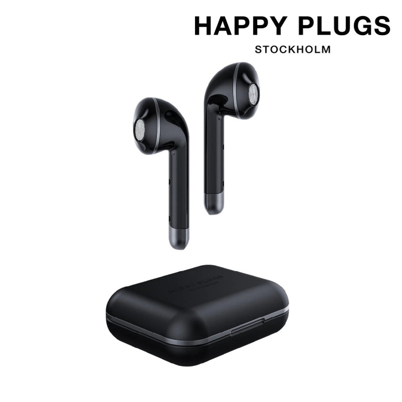 HAPPY PLUGS. - Air 1 真無線藍牙耳機 黑色