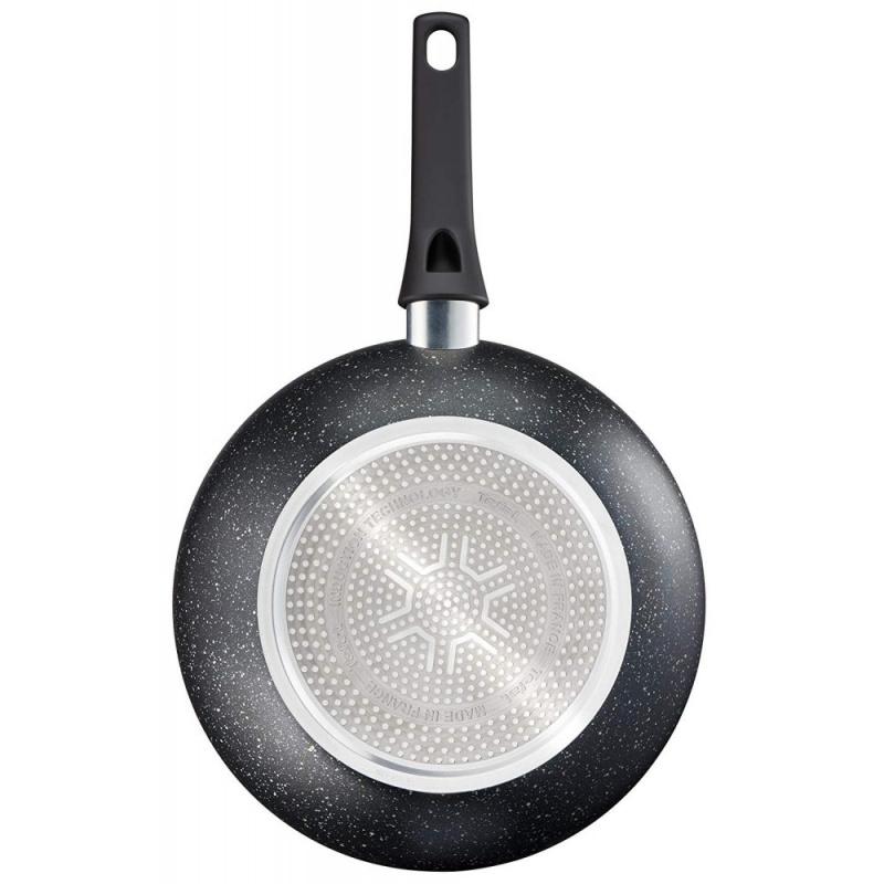 法國特福 Tefal - Authentic 頂級礦物系列 28厘米易潔深炒鍋 法國製造 電磁爐適用 平底鑊 C6341902 Fry pan 28cm Made in France Induction compatible Cookware
