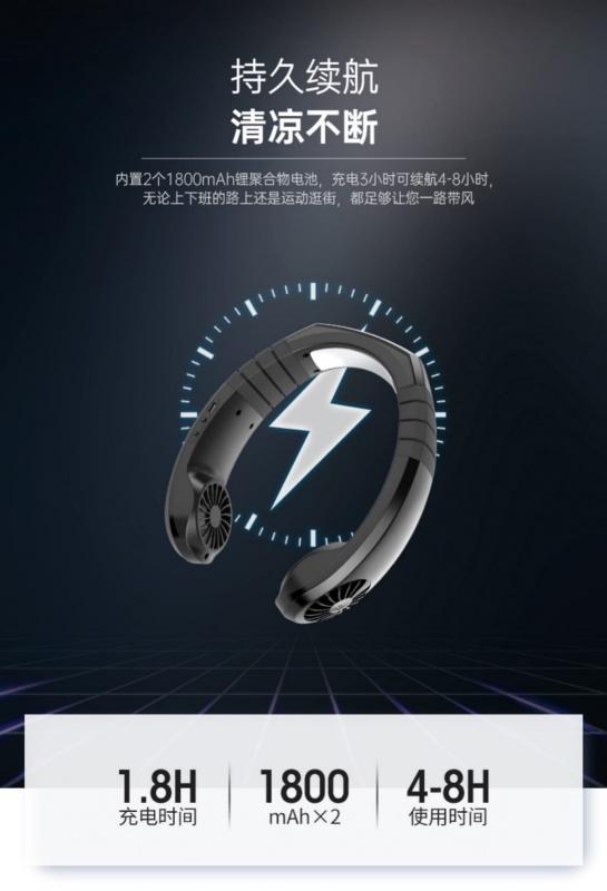NEXFAN 製冷片掛頸冷風機 [NX-2] NeckBand Cooler
