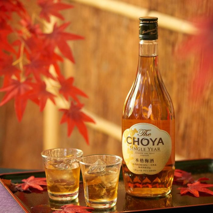 Choya Single Year 本格梅酒 720ml