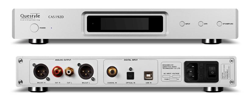 Questyle CAS192D DSD音頻升頻DAC 解碼器