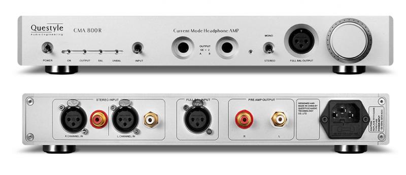 【陳列品激減優惠】Questyle CMA800R 電流模耳機放大器