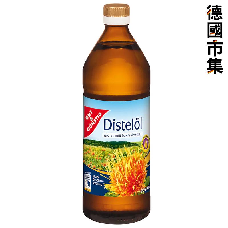 德國G&G 紅花油 750ml【市集世界 - 德國市集】