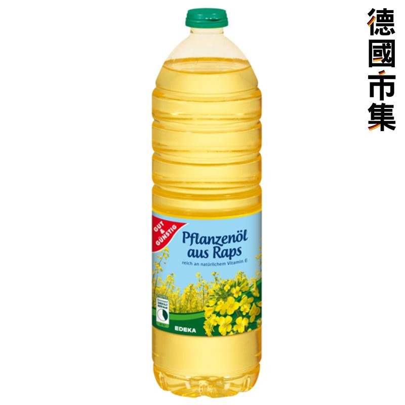 德國G&G 菜籽油 1L【市集世界 - 德國市集】