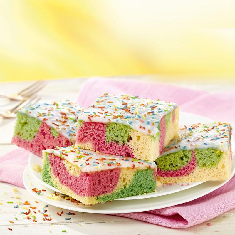 德國RUF【彩虹海綿蛋糕 】預伴粉 840g【市集世界 - 德國市集】