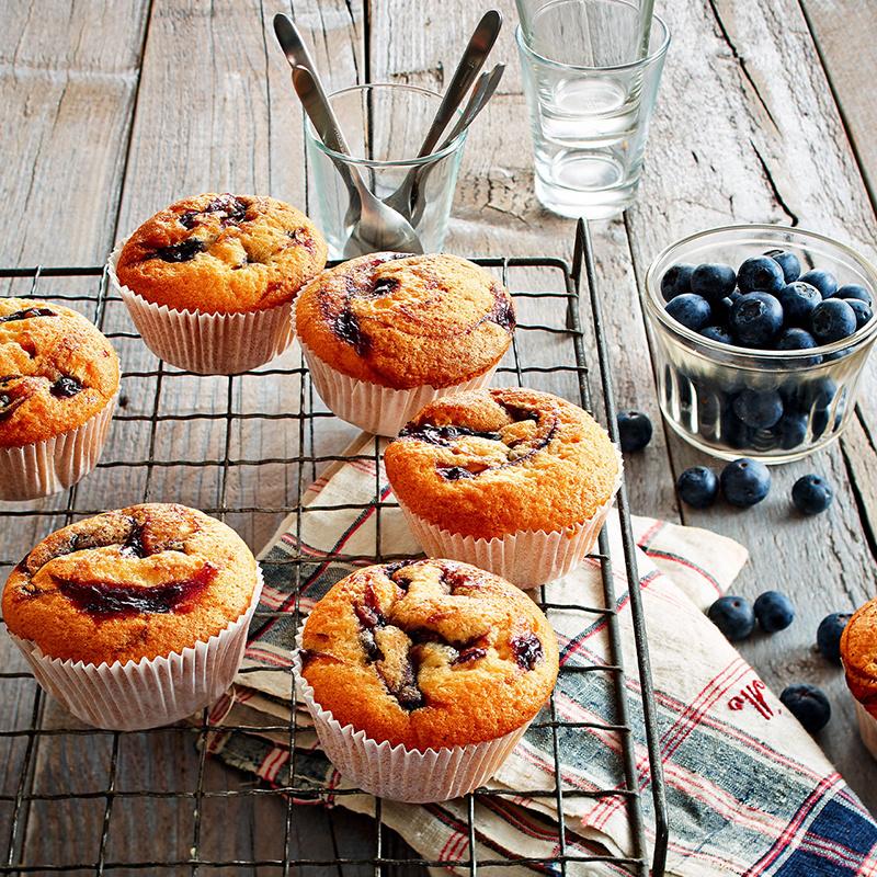 德國RUF【藍莓 鬆餅 Muffin】預伴粉 325g【市集世界 - 德國市集】