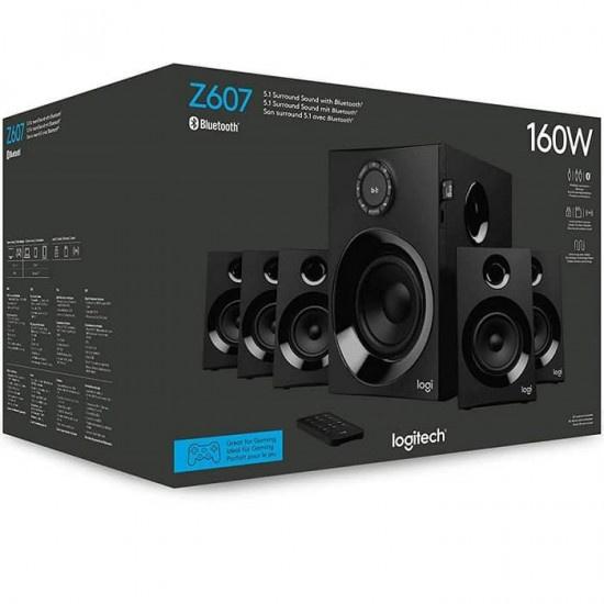 Logitech Z607 5.1 聲道環繞音效音箱系統 (配備重低音音箱)